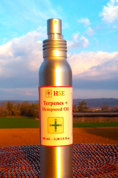 Terpenes+ HempSeed Oil - 100ml