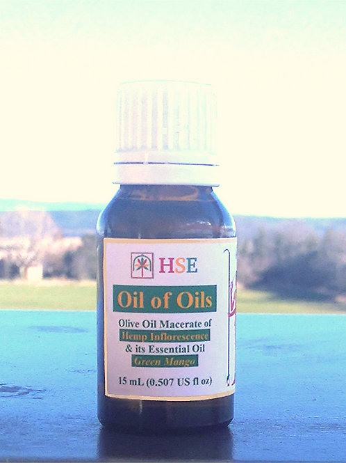"Oil of Oils ""Green Mango"" - 15mL (CBD)"