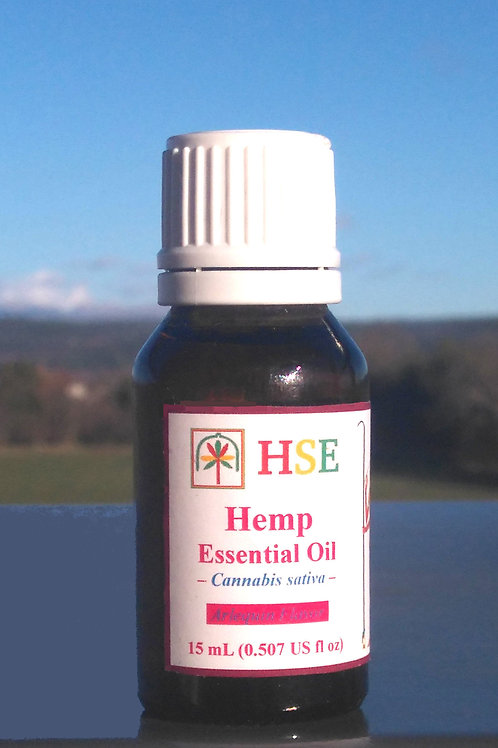 "Pure Hemp Essential Oil ""Arlequin"" - 15ml"