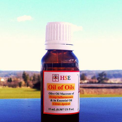"Oil of Oils ""Citrus-Apricot"" - 15mL (CBG+)"