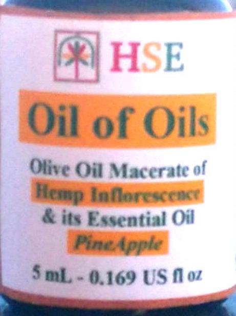 """Oil of Oils """"PineApple'"""" - 5mL (CBD+)"""