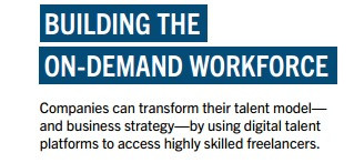 Building the On-Demand Workforce. Report by Harvard Business Review .