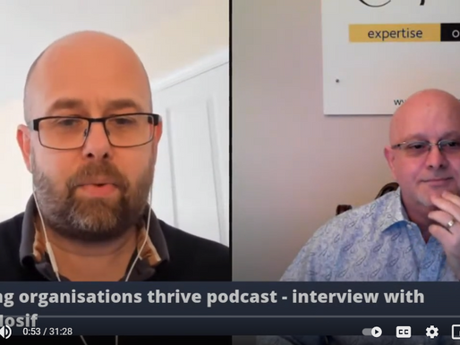 Julian Roberts interviews Dr Dorel Iosif on strategy and talent transformation.