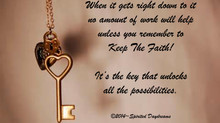 The key is...