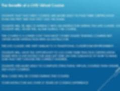 Benefits of a live virtual webinar class
