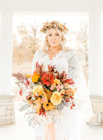 Autumn BoHo Bridal Bouquet