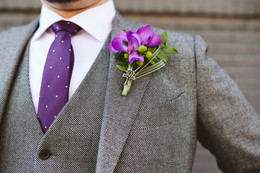 WOW Themed Boutonniere