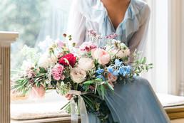 French Provincial Bridal Bouquet