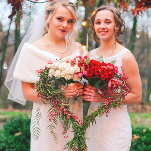 Emilee and Amanda