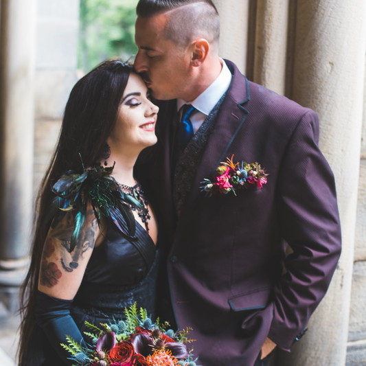 Addams Family Styled Shoot