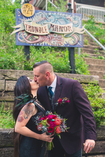 Gothic Elopement at Trundle Manor