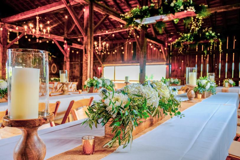 Reception at Pine Hall Barn