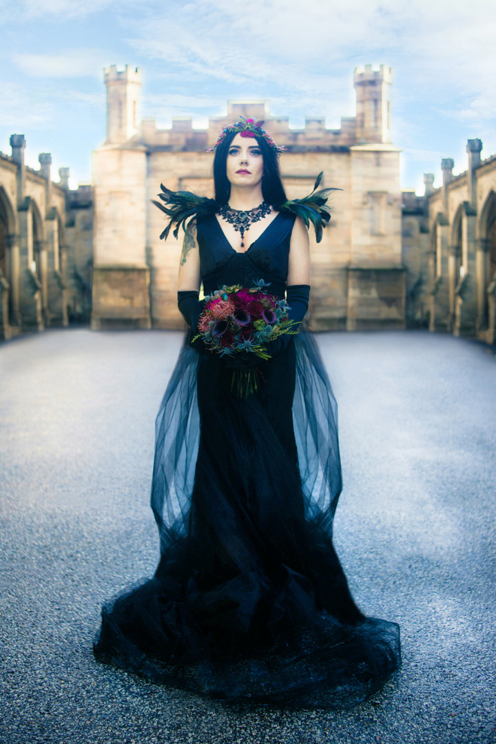 Gothic Wedding Bouquet