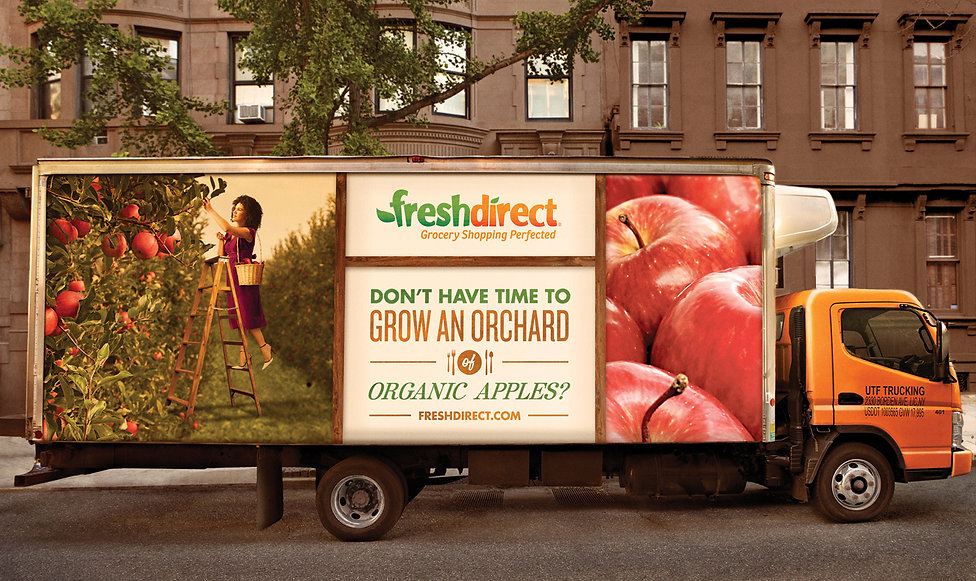 FreshDirect truck