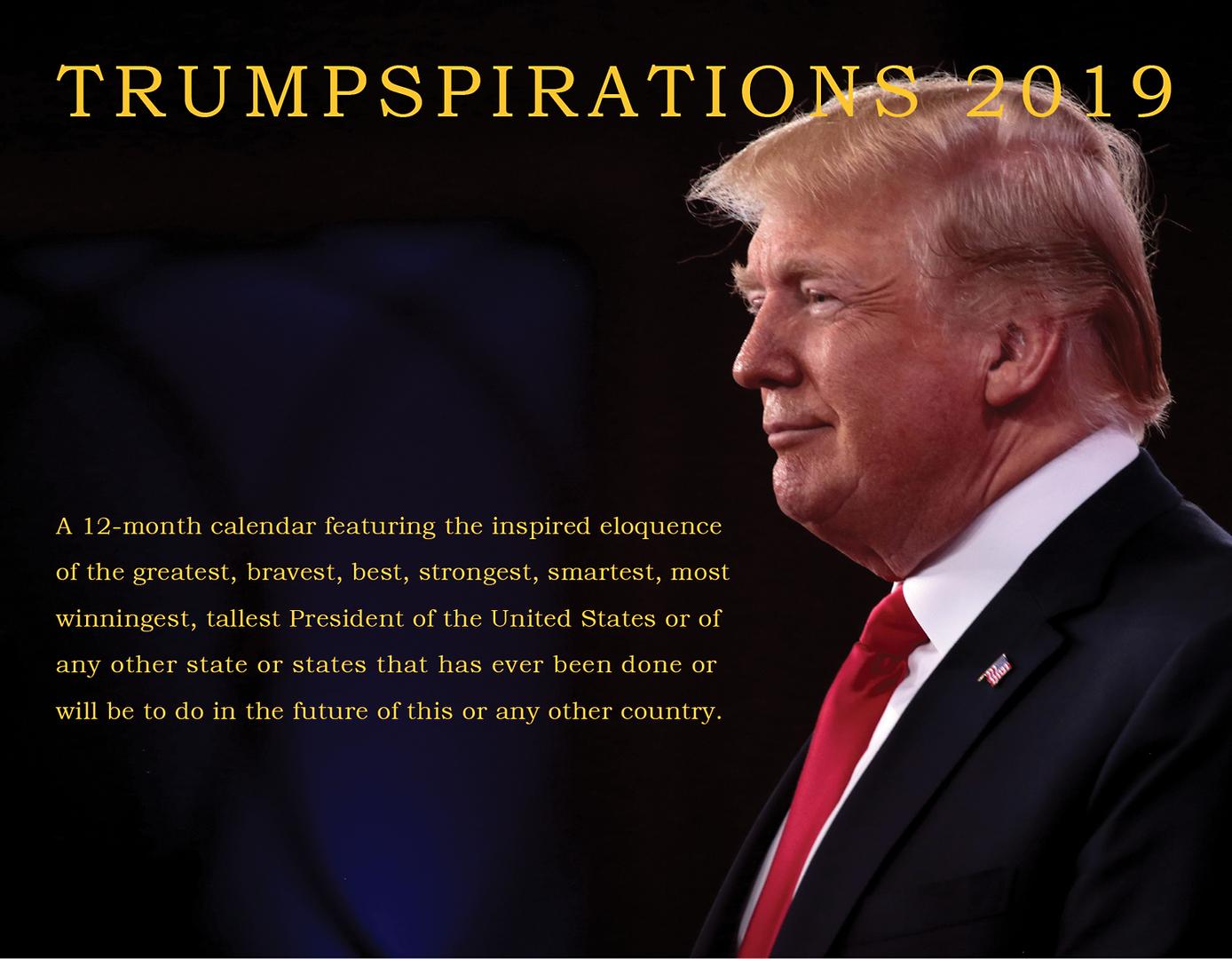 Trump quote calendar
