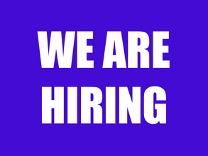 We're hiring, come work at Neon Caffeine