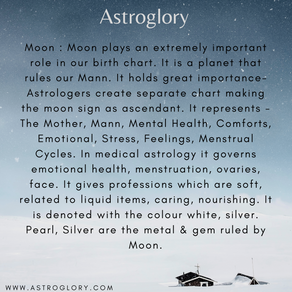 The Planet Moon In Vedic Astrology!