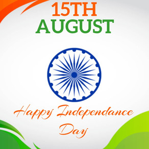 Wishing you all A Very Happy Independence Day! Use your freedom to make things better!