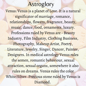 The Planet Venus In Vedic Astrology!