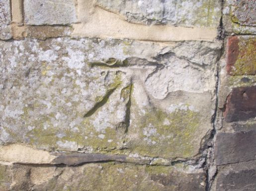 Benchmark ODN The Parsonage (close up)