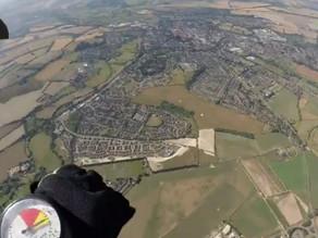 Sky-dive over Stratford