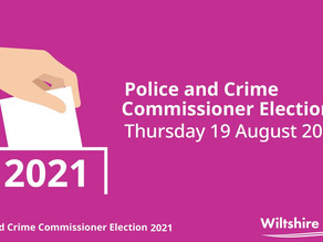 Another Election for Wiltshire Police & Crime Commissioner