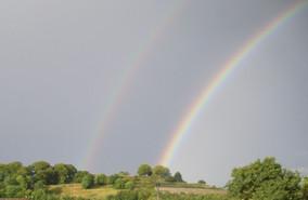 Old Sarum Double Rainbow