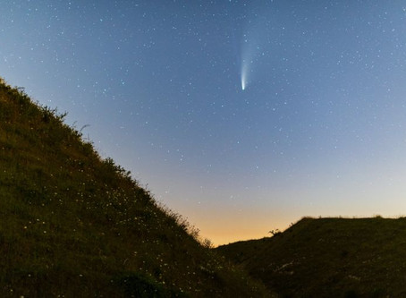 Neowise viewed from Old Sarum