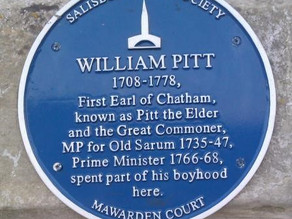 Blue plaque goes for refurb