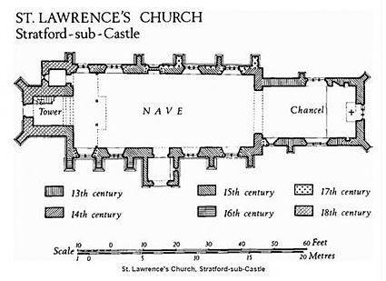 St L floorplan from britishhistory ac uk