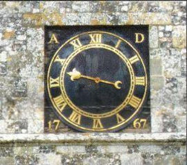 Clock dial with 1767 date.JPG