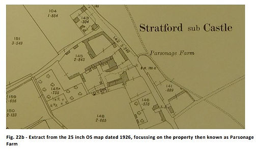Extract from OS map dated 1926