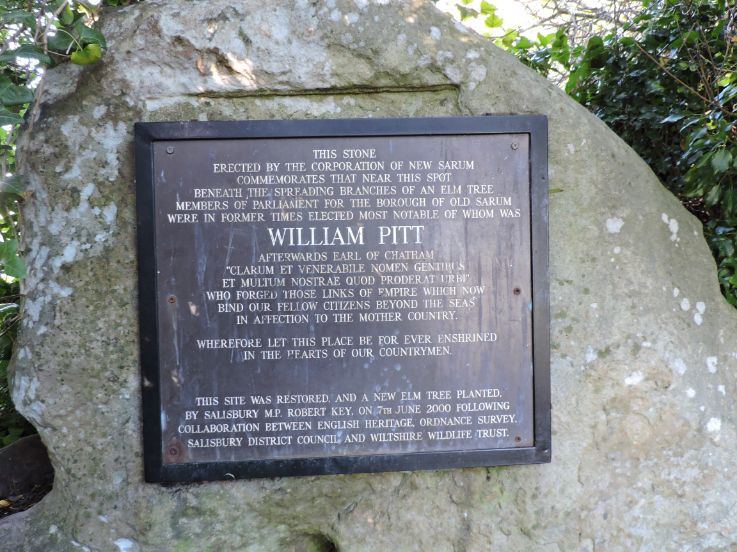 Inscription on the Parliament Stone