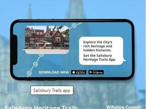 Salisbury Trails app launched