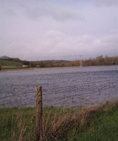 Flooding viewed from Durnford Road