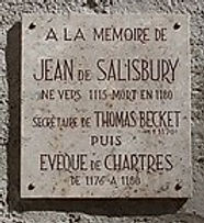 John of Salisbury Memorial plaque.jpg