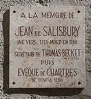 John of Salisbury Memorial plaque.jpg