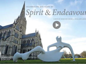 Salisbury Cathedral celebrates 800 years with virtual art exhibition