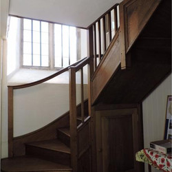staircase to gallery & tower