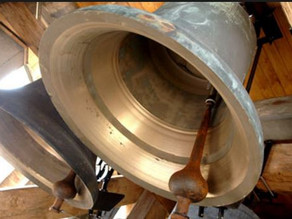 The bells are ringing at St Lawrence's