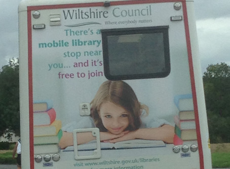 Mobile library, renewals & returning books