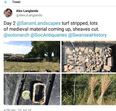 Tweet 10 July 2018