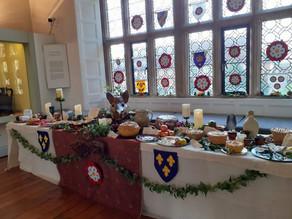 Tudor feast at Salisbury Museum
