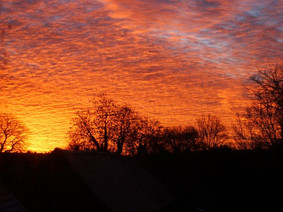 Sunrise over Old Sarum 26 May 2014