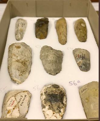 Flint tools Old Sarum image Salisbury Mu