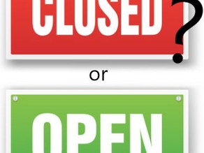 What's open? What's not? (during the current lockdown)