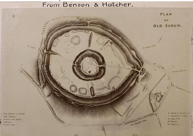 Benson & Hatcher Old Sarum 1834 plan.jpg