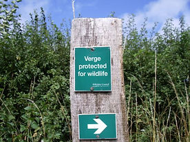 Northern Marker Post  Protected Verge. S