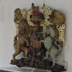 Queen Anne Royal Coat of Arms