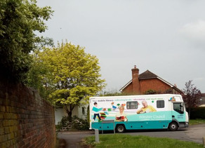 Mobile Library Van back on the road